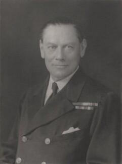 Sir Herbert William Richmond, by Walter Stoneman - NPG x132835