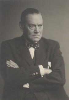 Sir Herbert William Richmond, by Walter Stoneman - NPG x132836