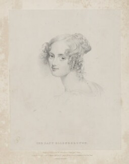 Jane Elizabeth, Countess of Ellenborough, by and published by Isaac Ware Slater, printed by  Charles Joseph Hullmandel, published by  Joseph Dickinson, published by and after  Joseph Slater - NPG D36146