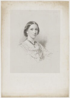Mary Louisa (née Campbell), Countess of Ellesmere, after George Richmond - NPG D36152
