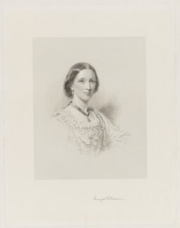 Mary Louisa (née Campbell), Countess of Ellesmere, after George Richmond - NPG D36153