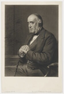 Edward Ellice, by Thomas Lewis Atkinson, after  George Richmond - NPG D36155