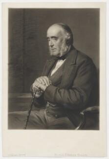 Edward Ellice, by Thomas Lewis Atkinson, after  George Richmond, 1870s-1880s - NPG D36155 - © National Portrait Gallery, London