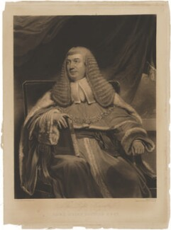 William Draper Best, 1st Baron Wynford, when Sir William Best, by William Say, published by  Robert Cribb & Son, after  Henry William Pickersgill - NPG D36216