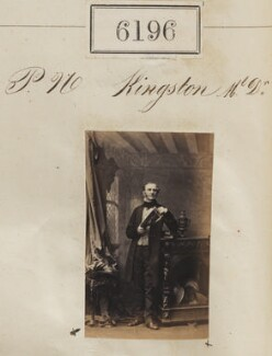 Peter Nugent Kingston, by Camille Silvy - NPG Ax56142
