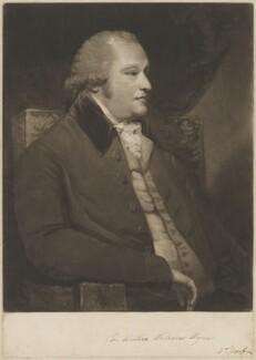 Sir Watkin Williams Wynn, 4th Bt, by Samuel William Reynolds, after  Sir Joshua Reynolds - NPG D36223
