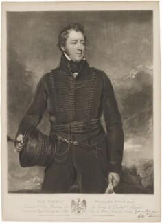 Sir Watkin Williams Wynn, 5th Bt, by William Say, published by  Edward Parry, after  John Jackson - NPG D36225