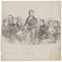 The Munster Catholic Association, by Joseph Patrick Haverty, printed by  Engelmann, Graf, Coindet & Co, published by  Molteno & Graves - NPG D36230