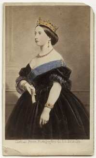 Queen Victoria, by Ghémar Frères, after  Unknown engraver - NPG x13972