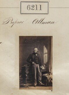 George James Allman, by Camille Silvy - NPG Ax56157