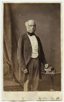 Henry John Temple, 3rd Viscount Palmerston, by London Stereoscopic & Photographic Company - NPG x11977