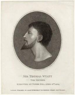 Sir Thomas Wyatt, published by Alexander McKenzie - NPG D36323