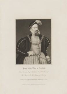 Robert Dudley, 1st Earl of Leicester, by Samuel Freeman, published by  Harding, Triphook & Lepard, after  William Derby, after  Marcus Gheeraerts the Younger - NPG D36324