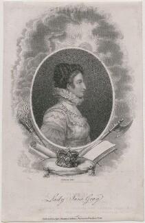 Lady Jane Grey, by James Hopwood Sr, published by  Ogles, Duncan & Cochran - NPG D36326