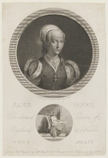 Lady Jane Grey, by George Noble, published by  John Boydell, published by  Josiah Boydell - NPG D36341