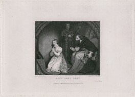 Lady Jane Grey, by John Mitchell, published by  Longman, Rees, Orme, Brown & Green, after  James Northcote - NPG D36333