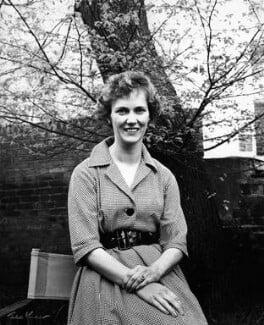 Gloria Jean Irene Dunn (née Hill), Lady Cottesloe, by Ida Kar - NPG x88671