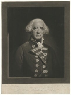 Richard Howe, 1st Earl Howe, by Robert Dunkarton, after  John Singleton Copley - NPG D36352