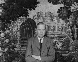 Cameron Fromanteel Cobbold, 1st Baron Cobbold, by Ida Kar - NPG x88674