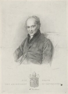 William Howley, by Maxim Gauci, after  Sir William Charles Ross, published 1839 - NPG D36358 - © National Portrait Gallery, London