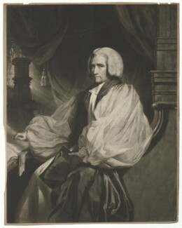 William Howley, by Samuel William Reynolds, after  John Hoppner - NPG D36359