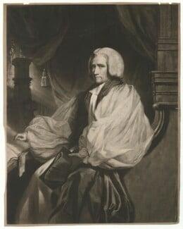 William Howley, by Samuel William Reynolds, after  John Hoppner, published 1818 - NPG D36359 - © National Portrait Gallery, London