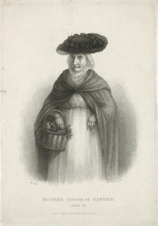 Rebecca Howse (née Wildgoose) ('Mother Goose of Oxford'), by Anthony Cardon, published by  Anthony Molteno - NPG D36362