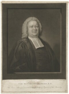 Henry Hubbard, by Charles Howard Hodges, published by  Jeremiah Freeman, after  John Theodore Heins (Dietrich Heins) - NPG D36363