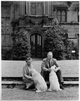 (Margaret) Hermione (née Bulwer-Lytton), Lady Cobbold; Cameron Fromanteel Cobbold, 1st Baron Cobbold, by Ida Kar - NPG x88676