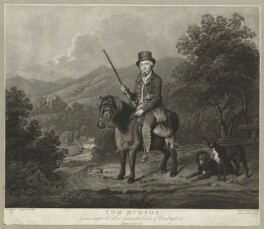 Tom Hudson, by John Young, possibly after  William Douglas - NPG D36368