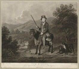 Tom Hudson, by John Young, possibly after  William Douglas - NPG D36368