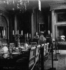 (Margaret) Hermione (née Bulwer-Lytton), Lady Cobbold; Cameron Fromanteel Cobbold, 1st Baron Cobbold, by Ida Kar - NPG x88677