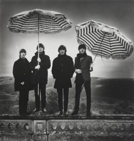 The Beatles (Ringo Starr, John Lennon, George Harrison, Paul McCartney), by Robert Whitaker, October 1964 - NPG  - © Robert Whitaker