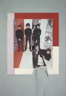 The Beatles (Ringo Starr, George Harrison, Paul McCartney, John Lennon), by Robert Whitaker - NPG P1349