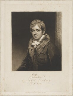 Robert William Elliston, by Charles Turner, after  George Henry Harlow - NPG D36166