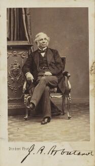 John Alves Arbuthnot, by Disdéri, 1860s - NPG Ax9885 - © National Portrait Gallery, London