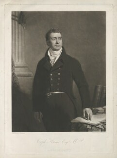 Joseph Hume, by Thomas Hodgetts, published by and after  John Graham Gilbert, published 1 June 1823 - NPG D36379 - © National Portrait Gallery, London