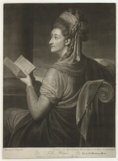 Lady Amelia Hume (née Egerton), by and published by Valentine Green, after  Richard Cosway - NPG D36383