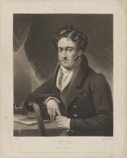 Richard Yates, by William Say, published by  William Sams, after  James Lonsdale, published 1 May 1826 - NPG D36240 - © National Portrait Gallery, London