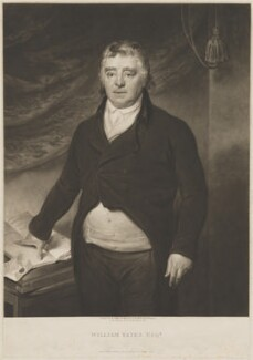 William Yates, by William Ward, published by  Colnaghi & Co, after  W. Allen - NPG D36242