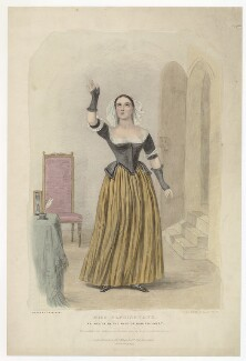 Emma Marian Maria Knowles (née Elphinstone), by (Isaac) Weld Taylor, printed by  Jérémie Graf, published by  Thomas McLean, after  Thomas Charles Wageman - NPG D36171