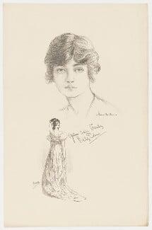 Lily Elsie, after Howard van Dusen, and after  John Hassall - NPG D36172