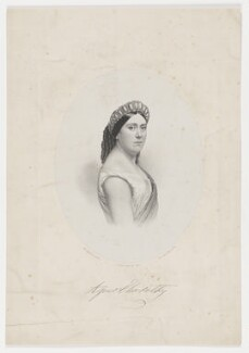 Agnes Elsworthy, by Henry Calton Maguire, printed by  M & N Hanhart, after  Martin Laroche (William Henry Silvester) - NPG D36174