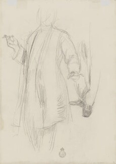 Unknown man, by Henry Tonks - NPG 3072(7a)