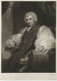 George Isaac Huntingford, by James Ward, published by  Robert Cribb, after  Sir Thomas Lawrence - NPG D36401