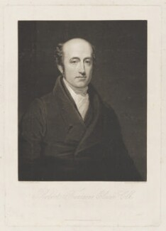 Robert Fountain (or Fountaine) Elwin, by Henry Edward Dawe, published by  William Freeman, after  George Clint - NPG D36178