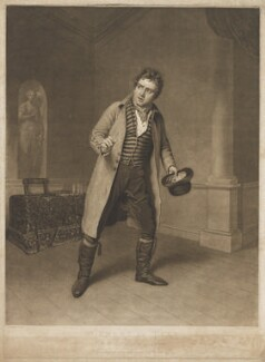 John Emery as Tyke in Morton's 'School of Reform', by and published by Charles Turner, after  Samuel De Wilde - NPG D36183