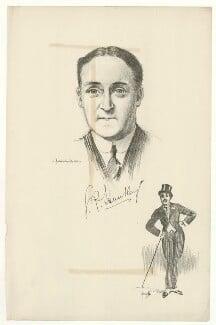 George Patrick Huntley, after Howard van Dusen, and after  John Hassall - NPG D36404