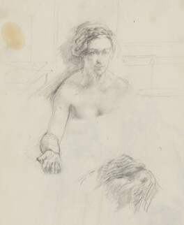 Unknown woman, by Henry Tonks - NPG 3072(18a)