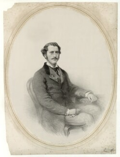 Charles Gordon, 11th Marquess of Huntly, by John Alfred Vinter, printed by  M & N Hanhart, after  John Watkins - NPG D36408
